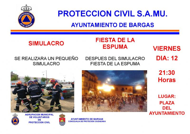 ACTIVIDADES ORGANIZADAS POR PROTECCIÓN CIVIL de Bargas – Verano Cultural 2013