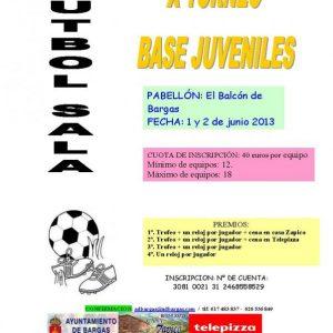 X Torneo de Futbol Sala Juveniles 2013