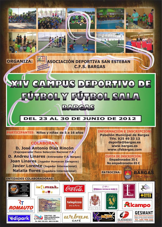 XIV Campus Deportivo de Fútbol y Fútbol sala 2012