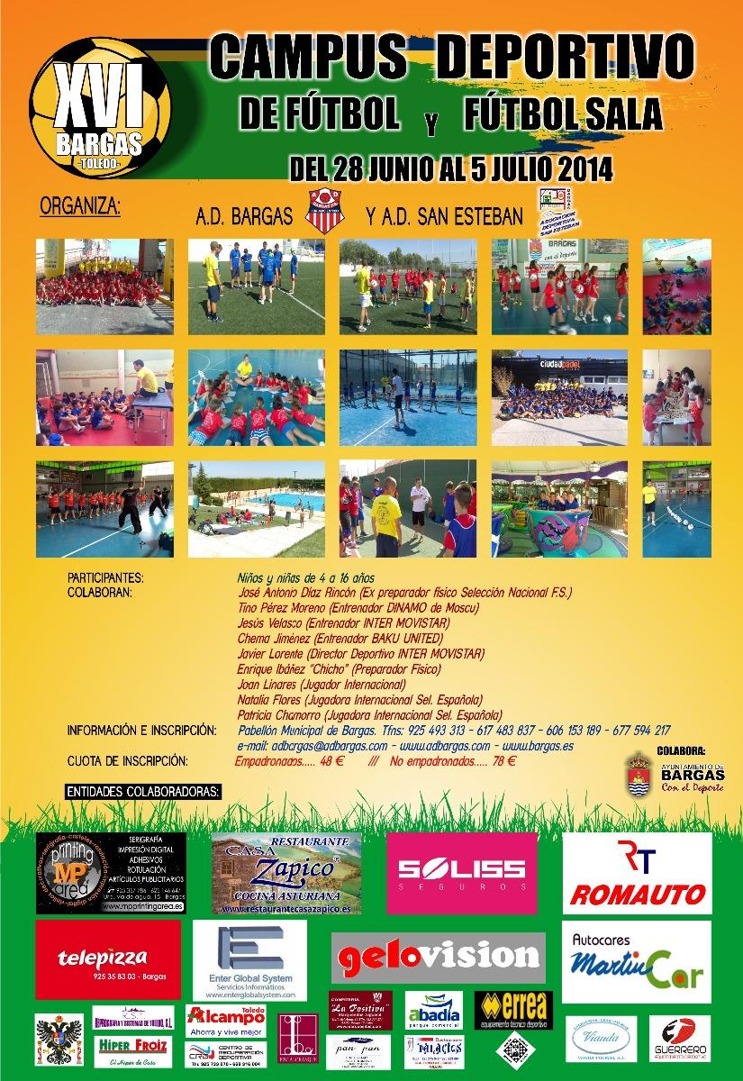 XVI Campus deportivo de fútbol y fútbol-sala