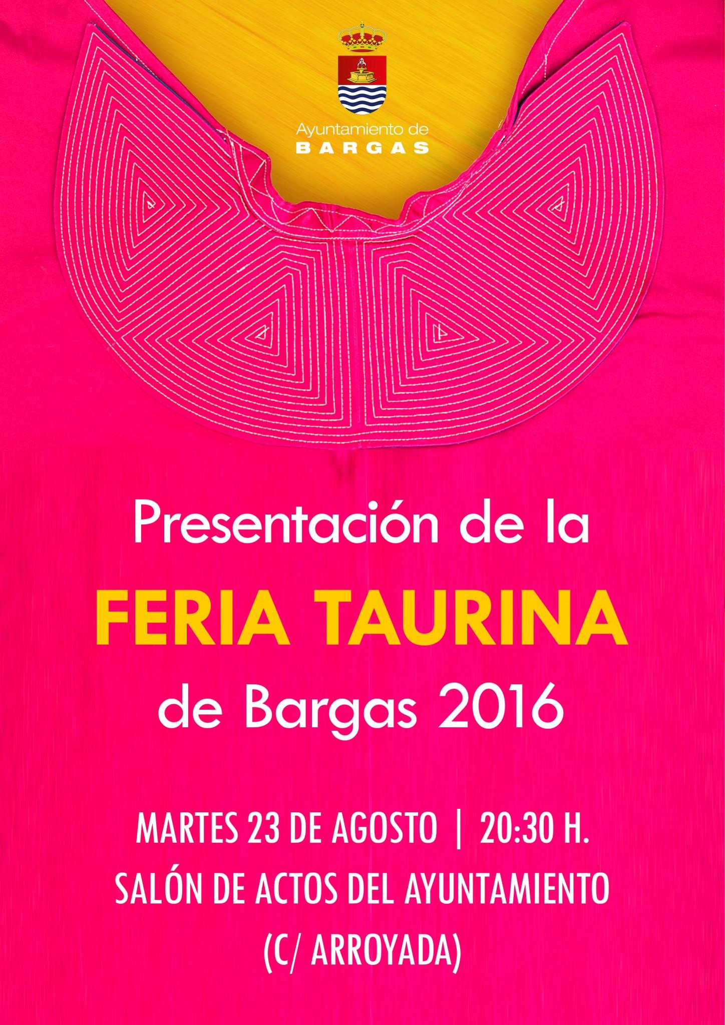 Presentación de la Feria Taurina 2016