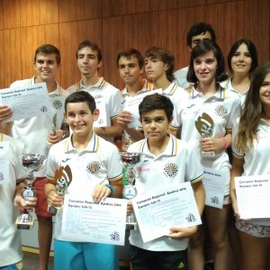 Doblete histórico del Club de Ajedrez Bargas Fund. Soliss en los Campeonatos Regionales de Equipos sub-18 y sub-12