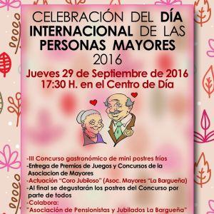 Celebración del Día Internacional de las Personas Mayores 2016