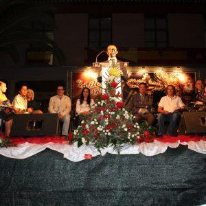 Dan comienzo las Fiestas Populares en honor del Stmo. Cristo de la Sala