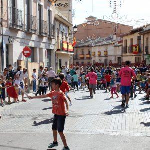Con juegos infantiles, paella, becerrada y música concluyen las Fiestas Populares de Bargas