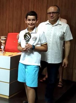 Lautaro Periotto, mejor 3º tablero Sub-12