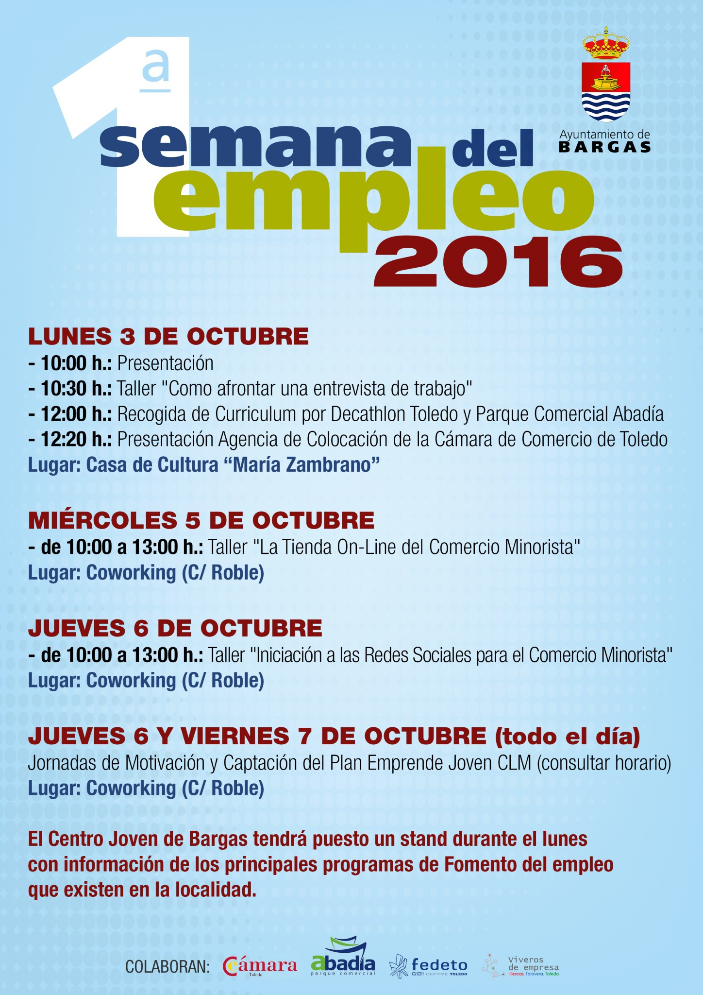 Programa Primera Semana del Empleo