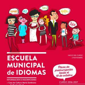 Escuela Municipal de Idiomas – Inicio del Curso 2016/2017