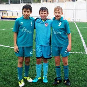 Excelente representación en la Selección Provincial de Fútbol Sub-12