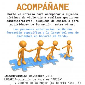 Voluntariado: ACOMPÁÑAME