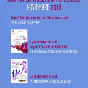 Actos de la Semana Contra la Violencia de Género 2016