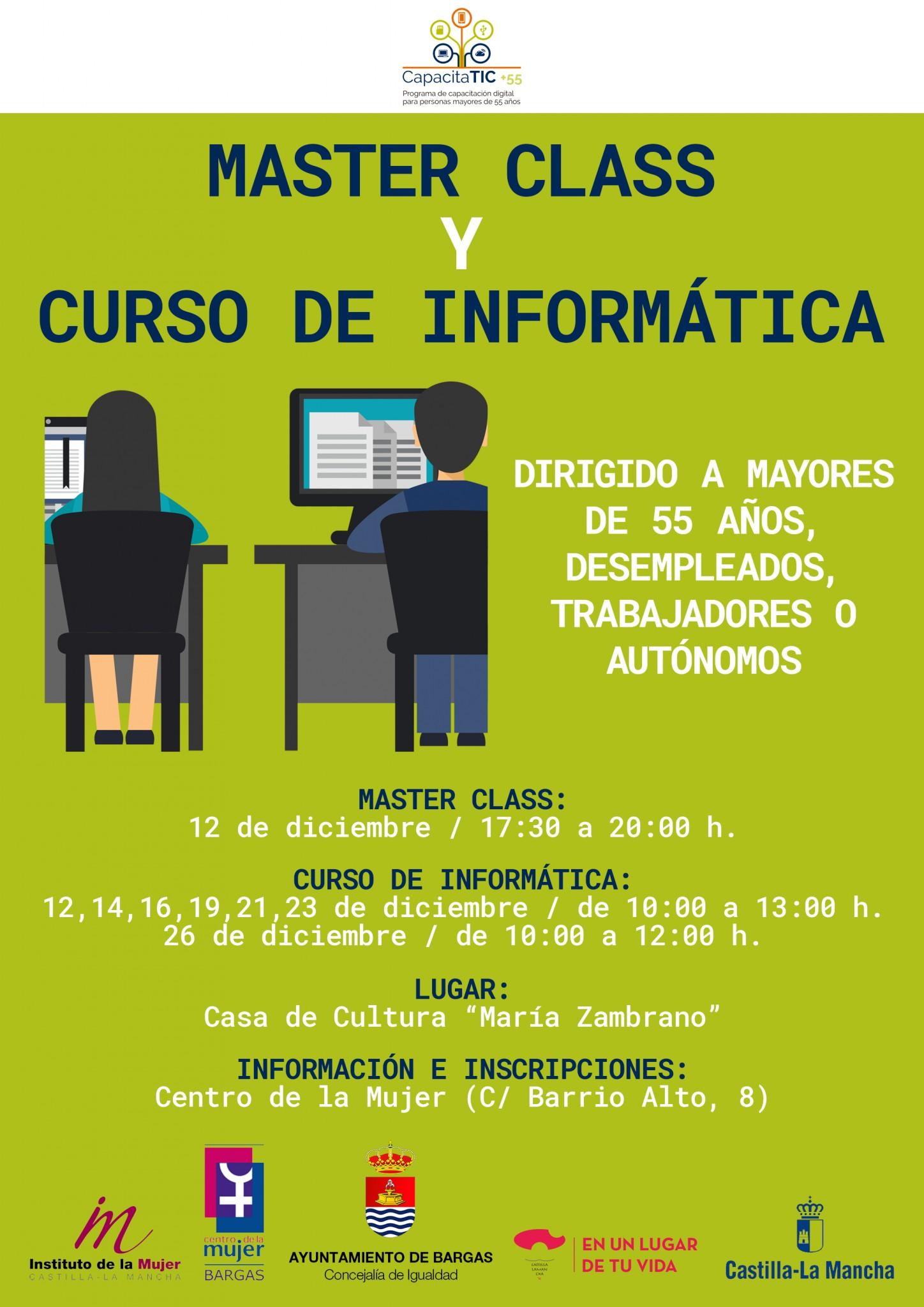 Master Class y Curso de Informática