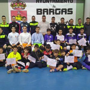 Bargas ha celebrado con éxito el Primer Clínic de Porteros de Futsal en la localidad