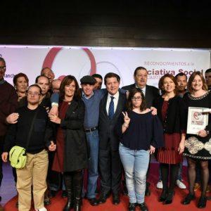 El Ayuntamiento de Bargas recibe de manos del Gobierno Regional el reconocimiento especial a la iniciativa social de Castilla La Mancha.