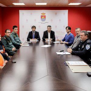 Reunida la Junta Local de Seguridad en Bargas