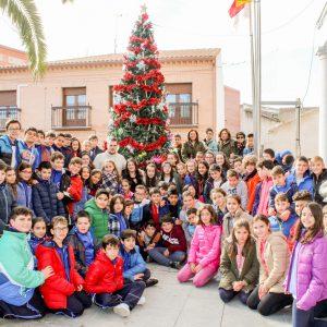 Colocación y decoración del Árbol de Navidad