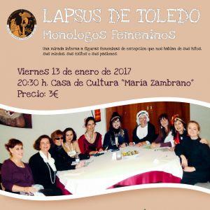 Lapsus de Toledo – Monólogos Femeninos