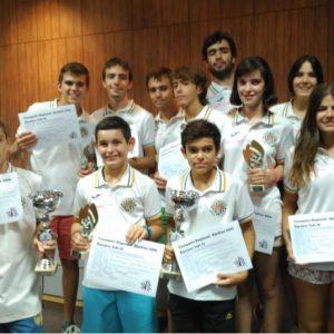 Los equipos sub-12 y sub-18 del Club de Ajedrez Bargas – Fundación Soliss disputan los Campeonatos de España por equipos en Benidorm