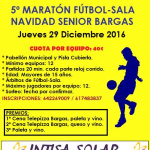 5º Maratón Fútbol Sala Navidad Senior