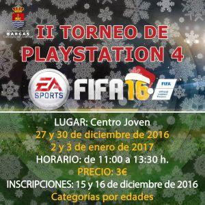 2º Torneo Playstation 4 – FIFA 2016
