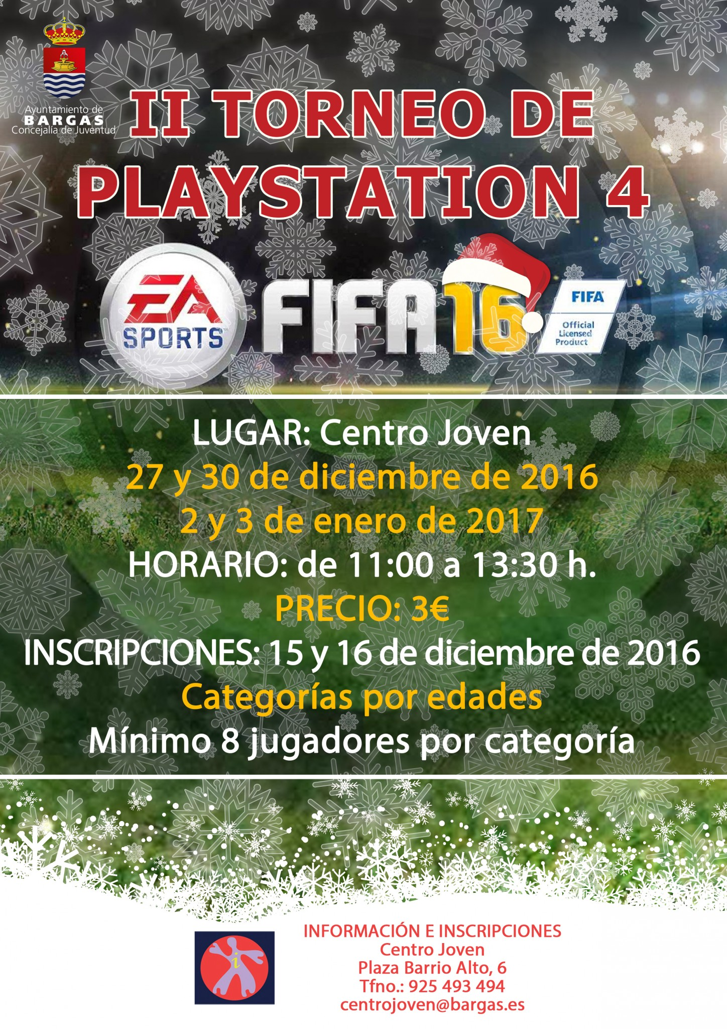 2º Torneo Playstation 4 – FIFA 2016