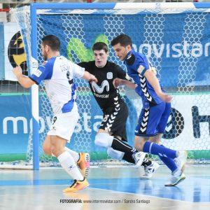 El portero bargueño, Gonzalo Puebla, debuta con el Inter Movistar F.S. 1ª División