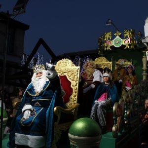 Sus Majestades, los Reyes Magos, llegan a Bargas