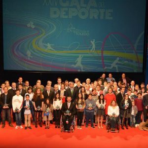 Deportistas bargueños galardonados en la XXIV Gala del Deporte de la Diputación de Toledo