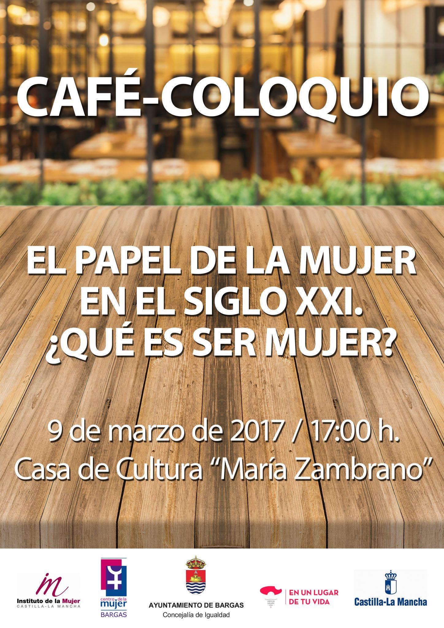 Café-Coloquio: El papel de La Mujer en el Siglo XXI
