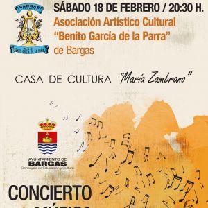 Concierto Música de Bandas: A.A.C. Benito García de la Parra