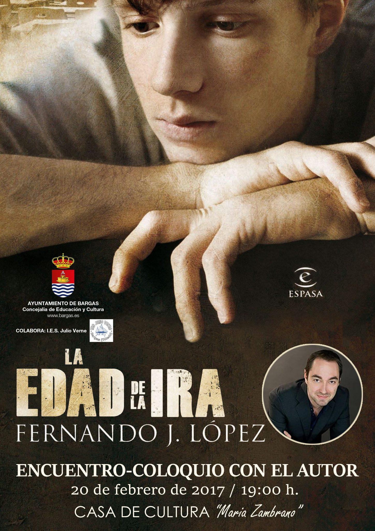 Encuentro-Coloquio con el autor Fernando J. López