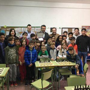 Reconocimiento de la Escuela Municipal de Ajedrez por sus 30 años