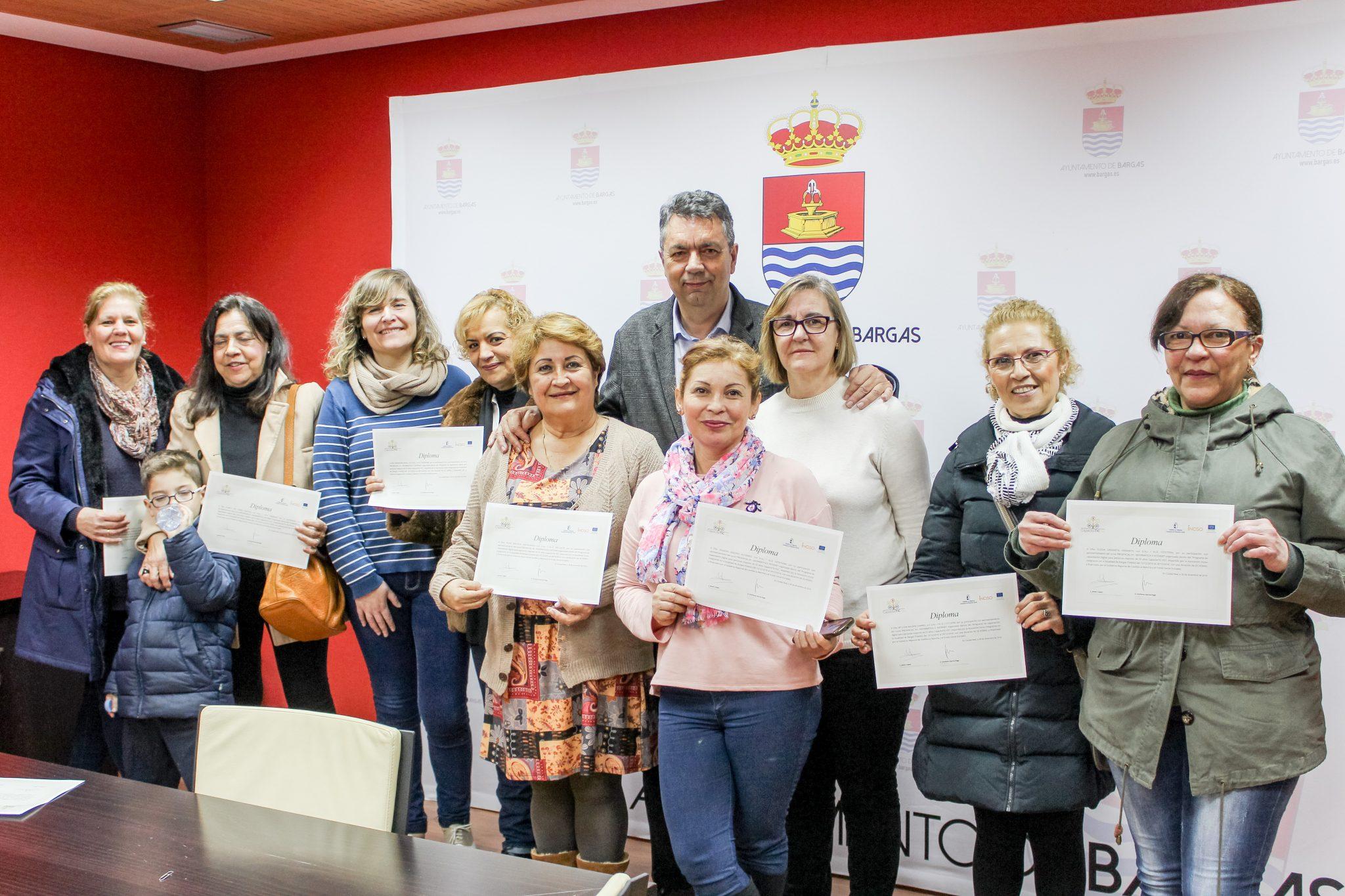 Clausura del Curso de Informática dirigido a mujeres mayores de 55 años