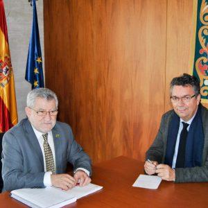 El Alcalde de Bargas se reúne con el Consejero de Educación, Cultura y Deportes de Castilla-La Mancha