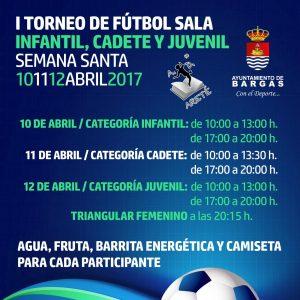 Primer Torneo de Fútbol Sala – Semana Santa 2017