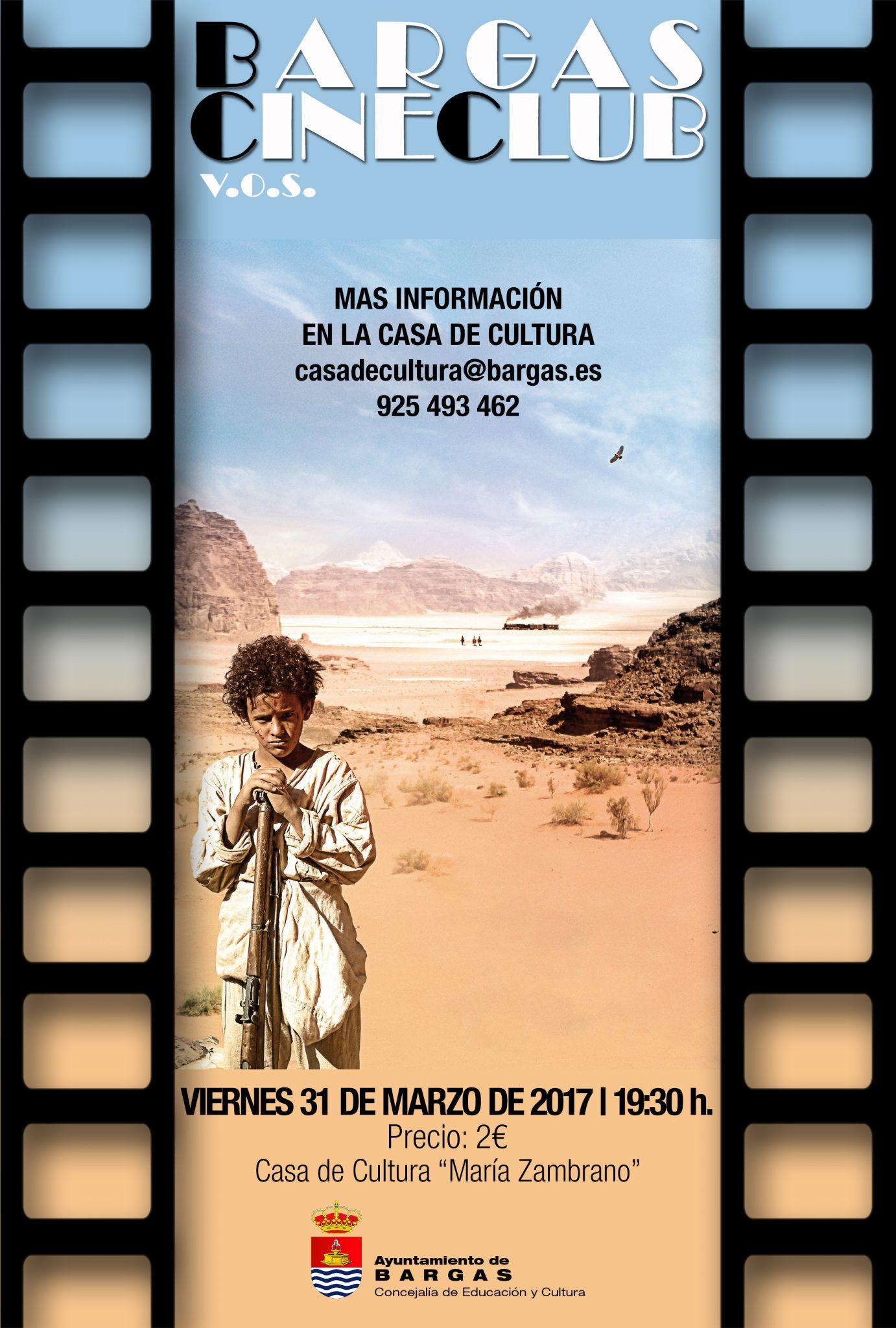 Cineclub V.O.S. Marzo 2017