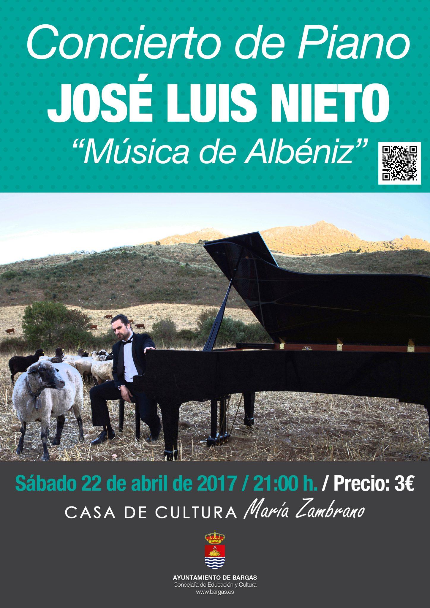 Concierto de Piano: José Luis Nieto. Música de Albéniz.