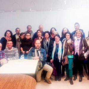 """Clausura Taller Literario: """"La novela, de la idea a la editorial"""". Bargas con el escritor Claudio Mazza."""