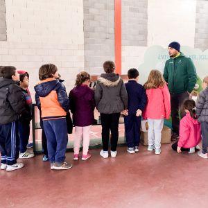 Bargas acoge la campaña de reciclado «Bienvenido al planeta de Mr. Iglú»