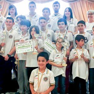 El Club Ajedrez Bargas – Fundación Soliss lidera el medallero de los Regionales de Ciudad Real merced a sus tres oros y una plata