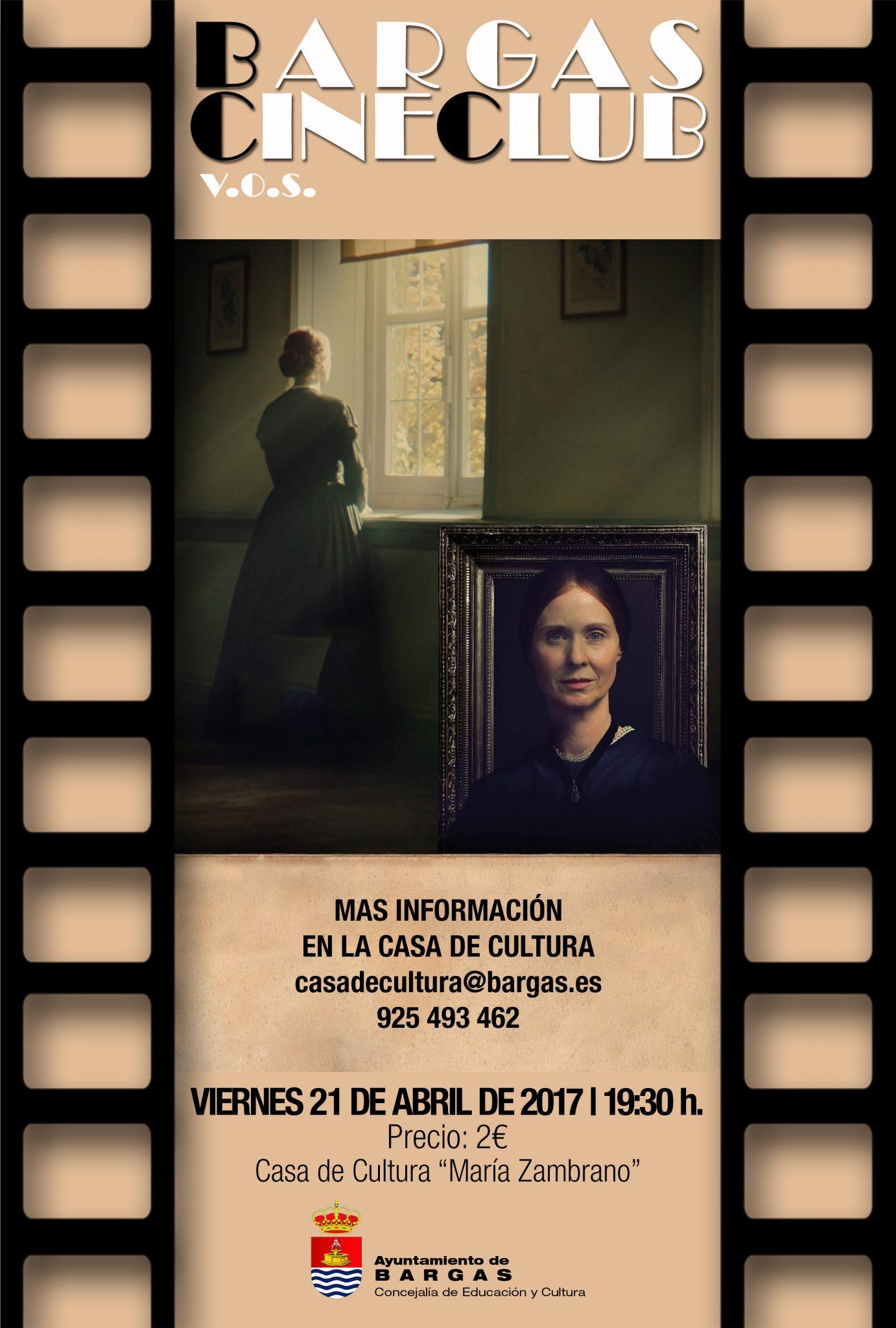Cineclub V.O.S. Abril 2017