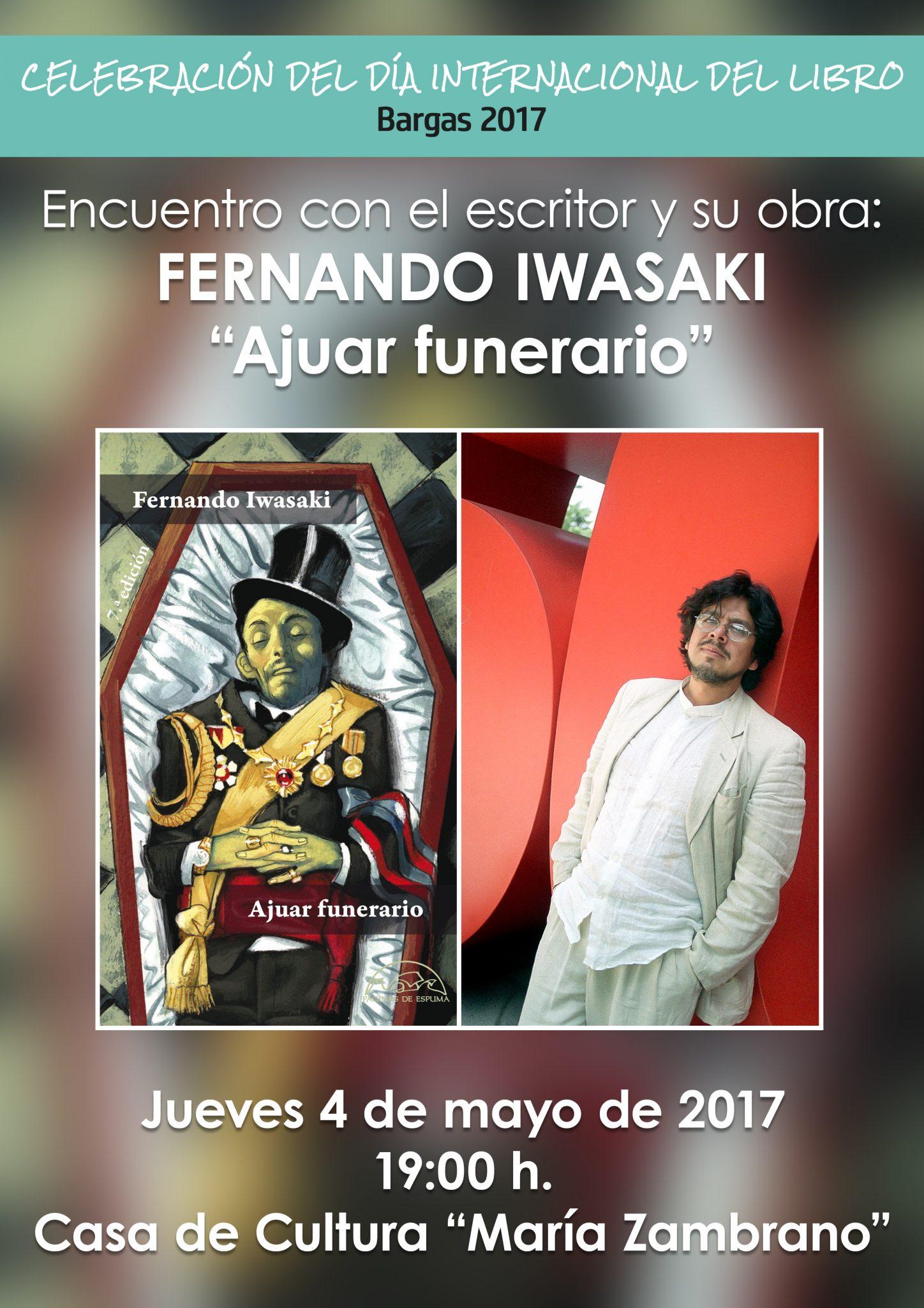 Encuentro con el autor y su obra: Fernando Iwasaki