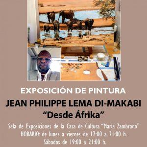 """Exposición de Pintura de Jean Philippe Lema Di-Makabi: """"Desde Áfrika"""""""