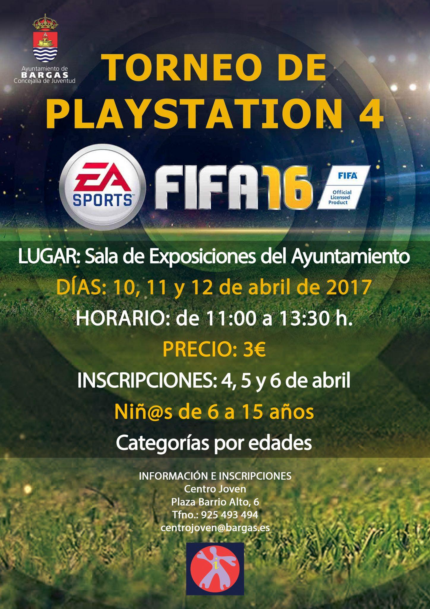 Torneo PlayStation 4 Semana Santa