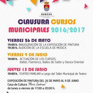 Clausura de los Cursos Municipales 2016/2017