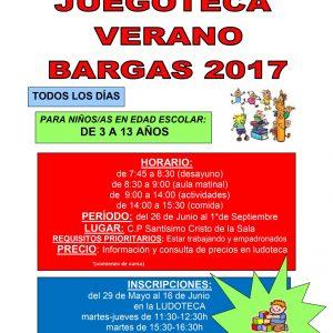 Juegoteca Bargas – Verano 2017