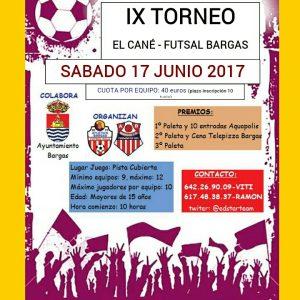 IX Torneo El Cané Futsal Bargas