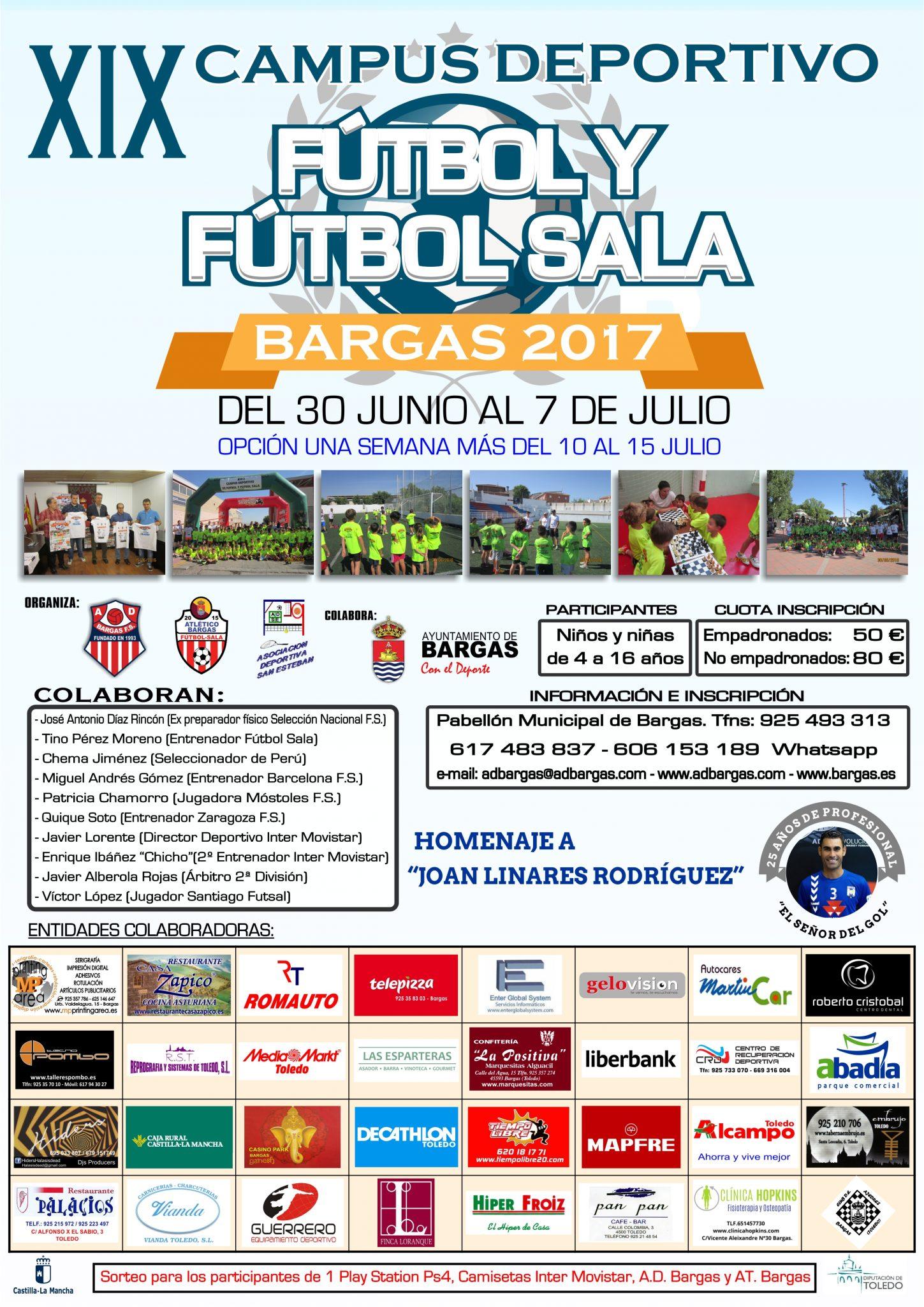 XIX Campus Deportivo Fútbol y Fútbol Sala