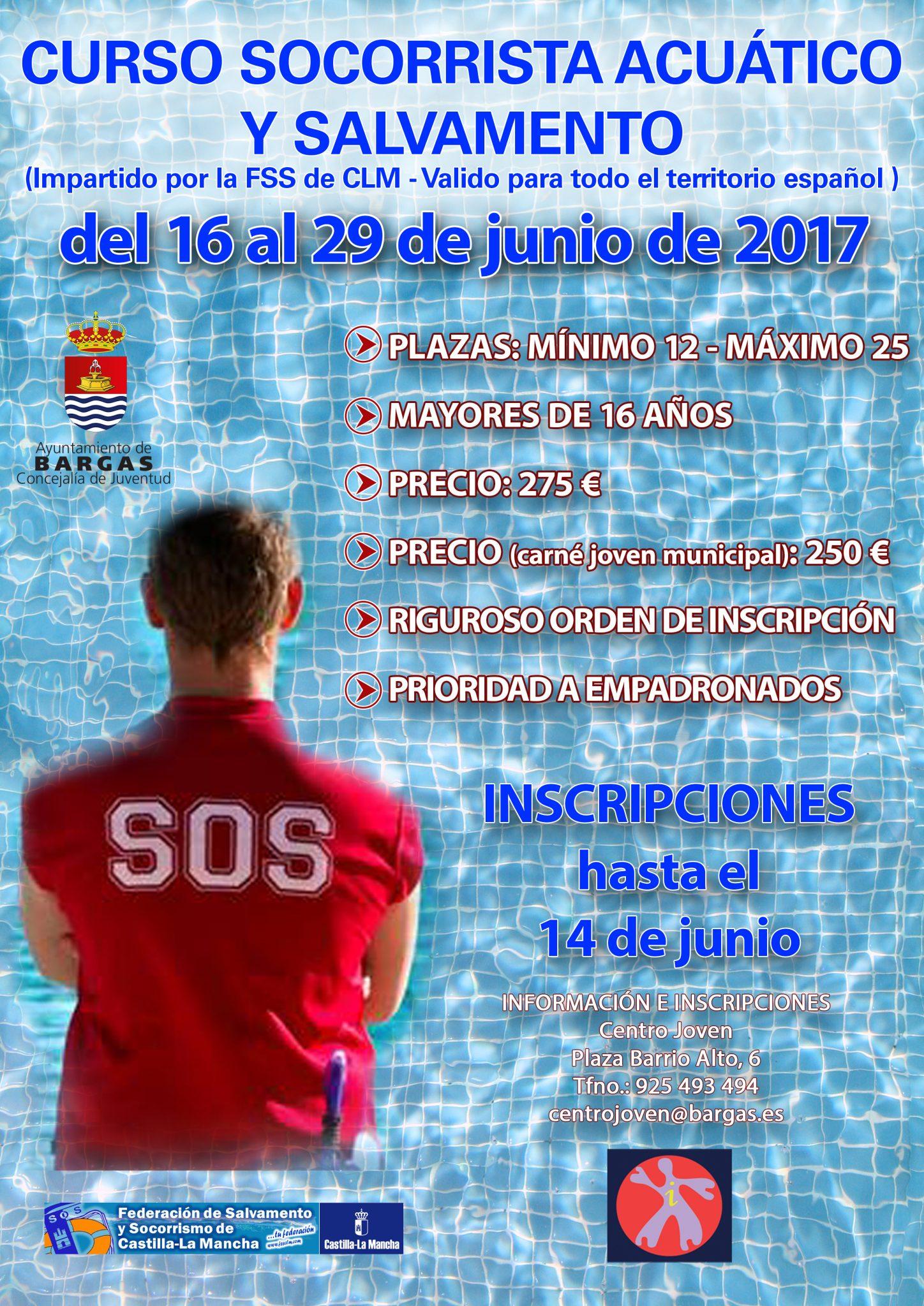 Curso de socorrista acuático y salvamento – 2017