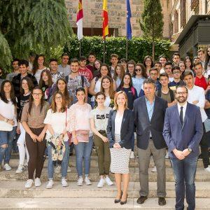 El Instituto «Julio Verne», de Bargas, asiste al acto regional en el Día de Europa